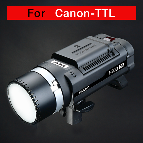B500 TTL / AC-DC Dual-Purpose For Canon / Battery TypeSMDV