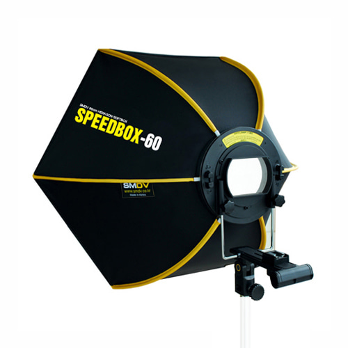 SPEEDBOX-60 / Size : 60 x 52 cm SPEEDLITE SOFTBOX / Speedlite TypeSMDV